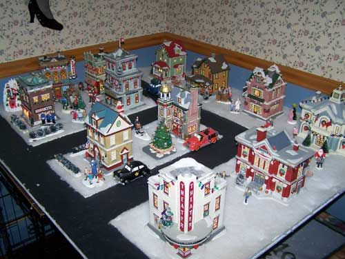 A Christmas Story Dept 56 Village - lots of ideas | Ralphie ...