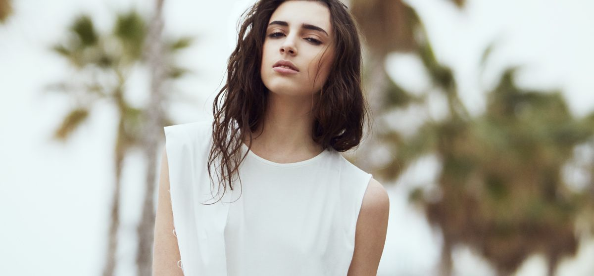 Irene La Plana ( Elite Model Management) Photo by Ane + Jose Hair + Makeup by Maria Martinez Campaña SSIC AND PAUL SS14
