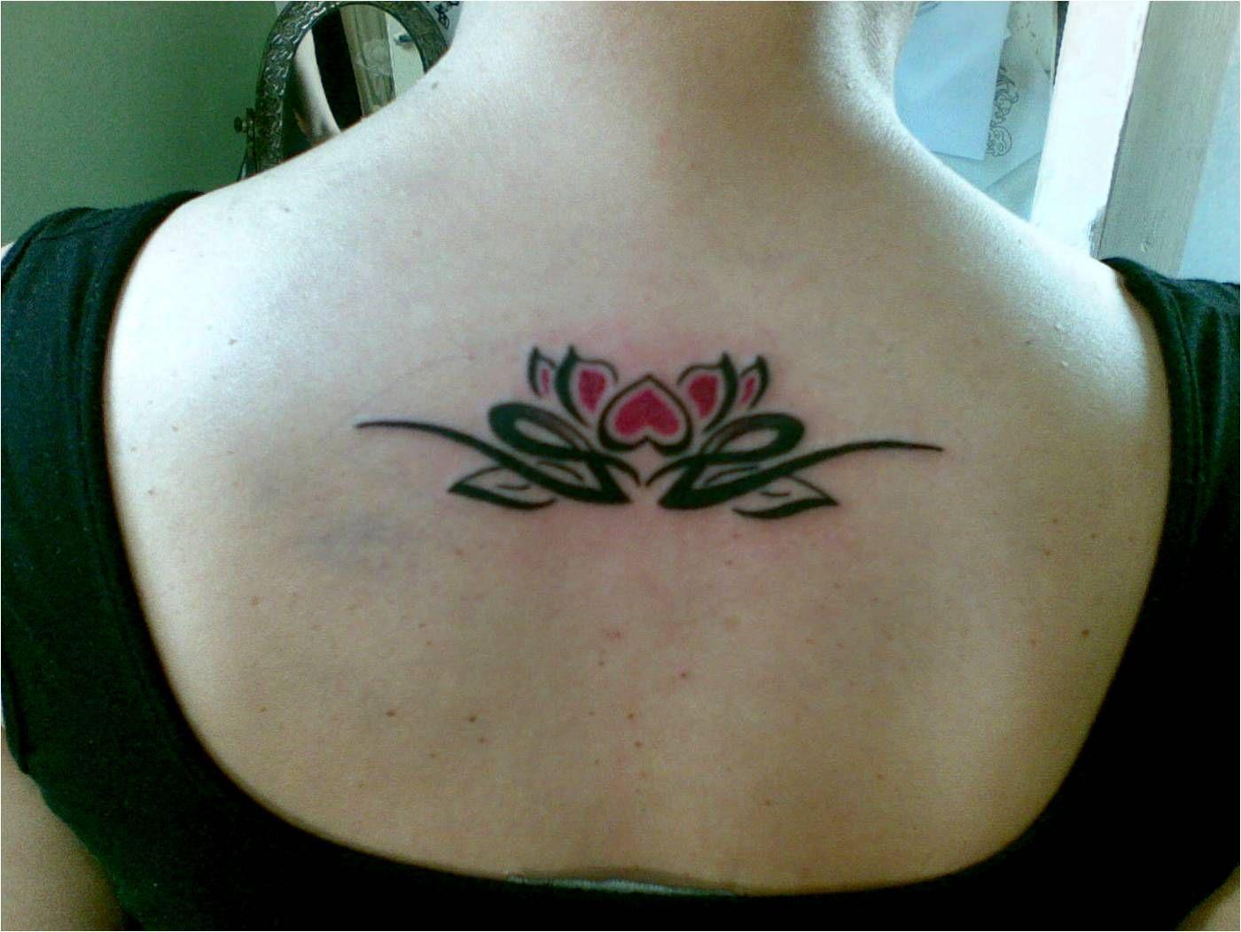 Tribal Lotus Ankle Tattoo Lotus Tattoo Location And Variety Ideas