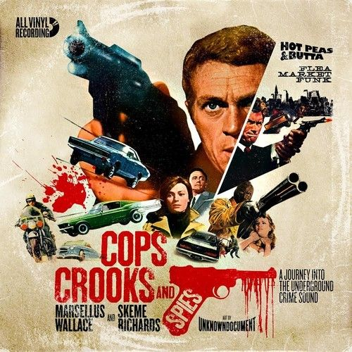 Marsellus Wallace and Skeme Richards - Cops Crooks And Spies