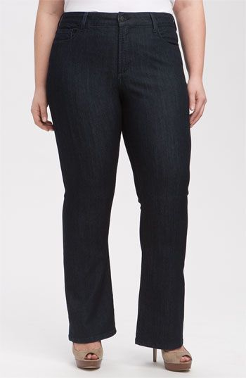 272e50b20ca NYDJ  Barbara  Bootcut Jeans (Petite Plus Size) available at Nordstrom
