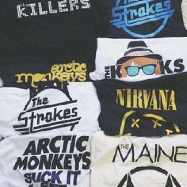 CHEAP BAND TEES   want in 2019   Band shirts, Band Tees, Fashion