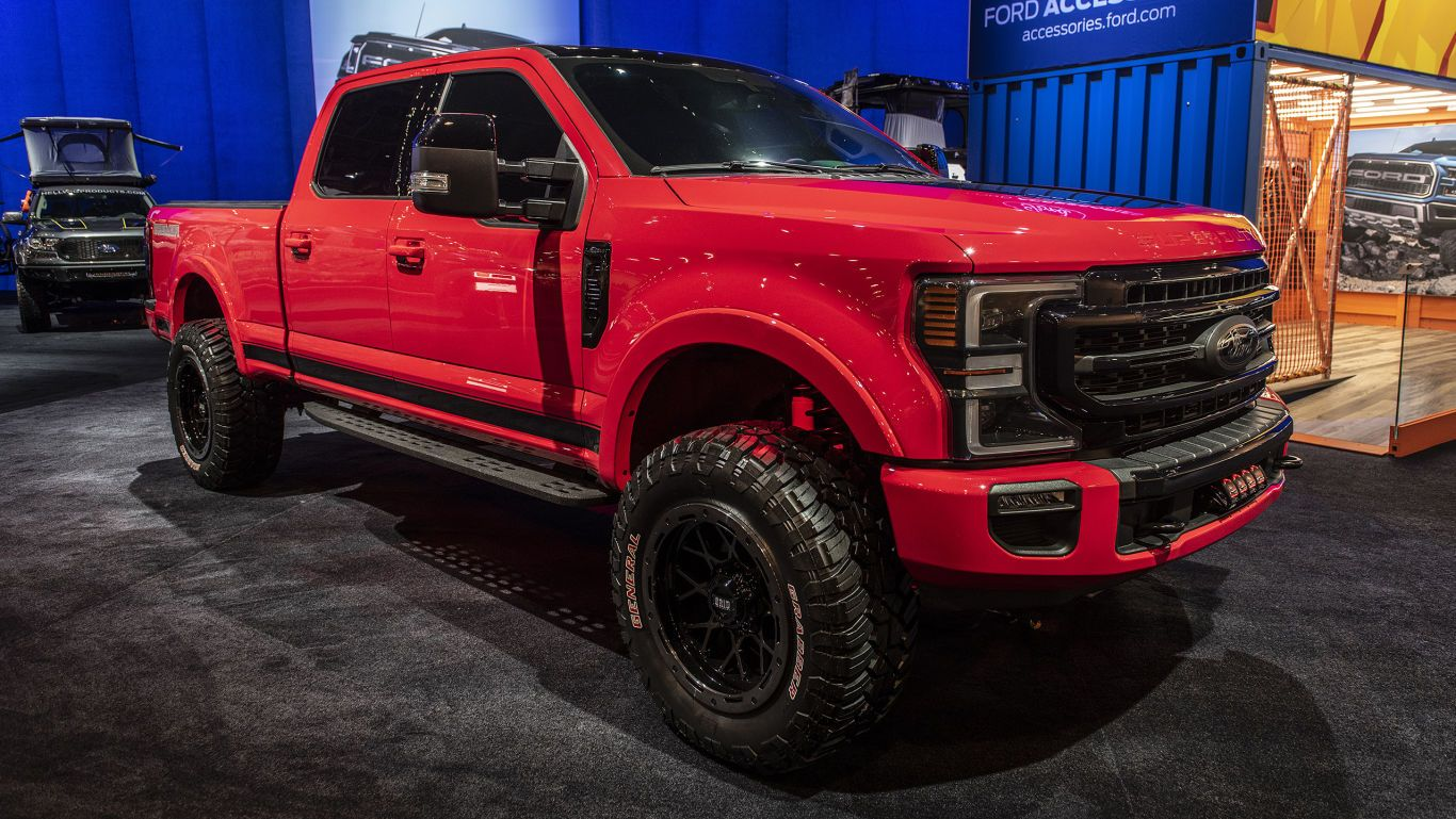 2020 Ford Super Duty Builds To Feature In Ford S 2019 Sema Lineup In 2020 Ford Super Duty Trucks Ford Super Duty Super Duty Trucks