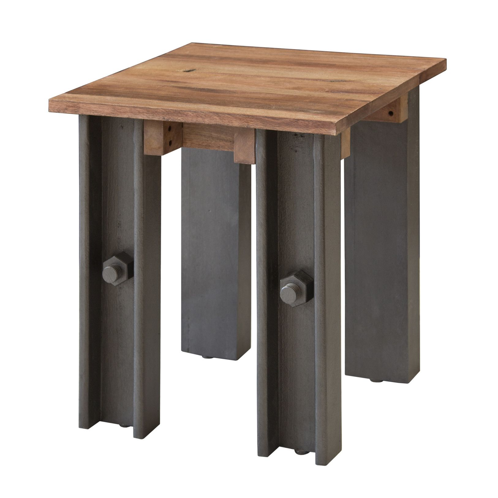Thomas Telford Steel Girder Industrial Side Table Industrial