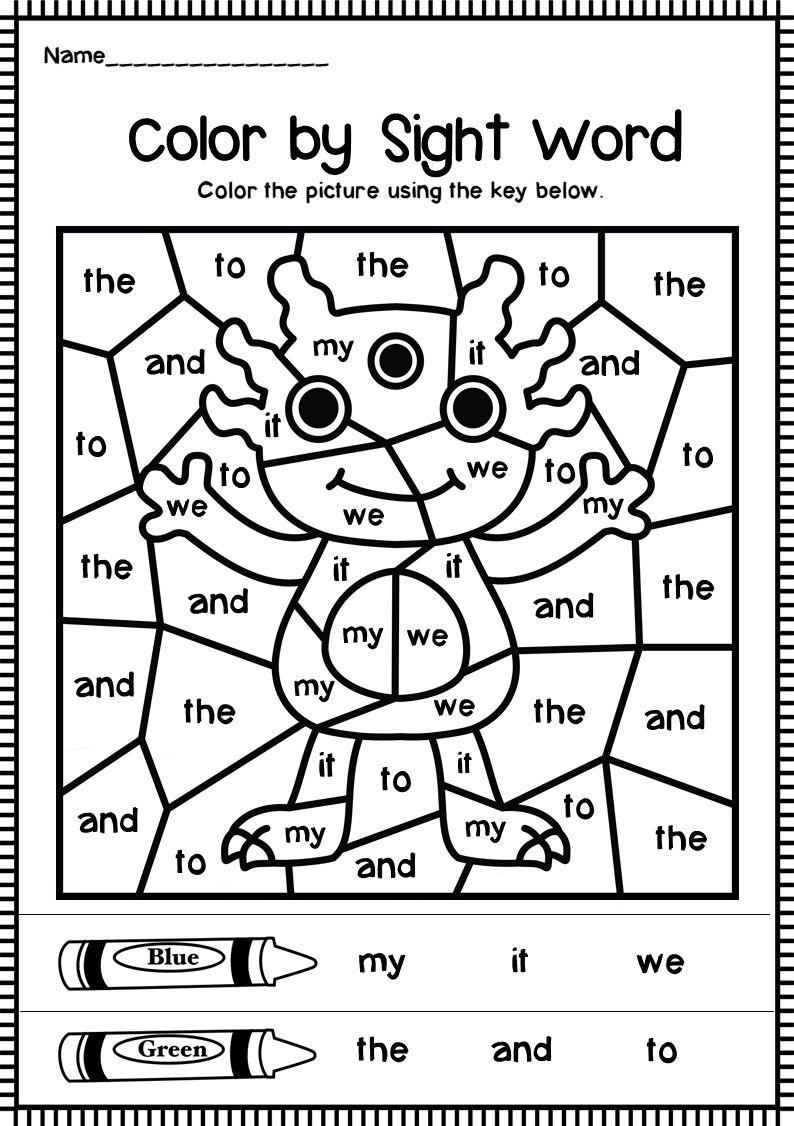 Color Word Practice And Tons Of Other Printable For Preschool To 3rd Grade Preschool Colors Preschool Learning Kindergarten Colors [ 1325 x 1024 Pixel ]