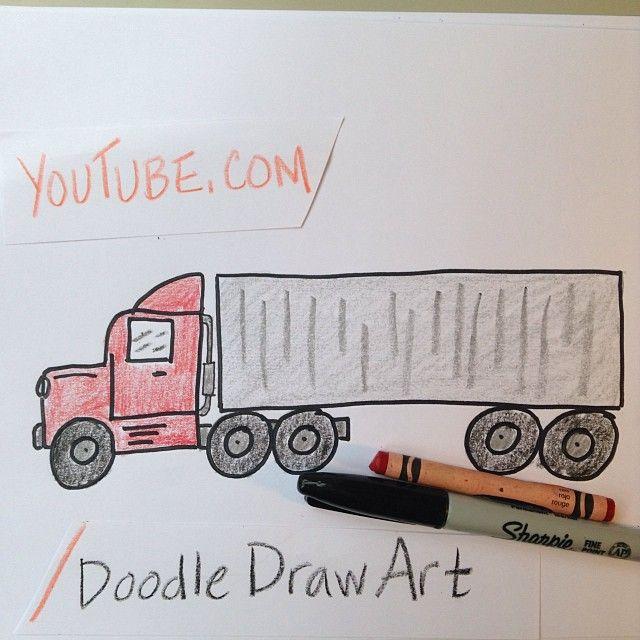0359e2339826c085fc2de513a82becce » Kid Truck Drawing