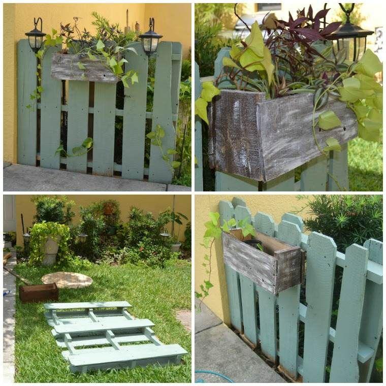 Tutoriel Jardiniere En Palette Bois Idee Pot De Fleur Suspendu Bois Exterieur Vegetable Garden Diy Garden Fencing Pallets Garden