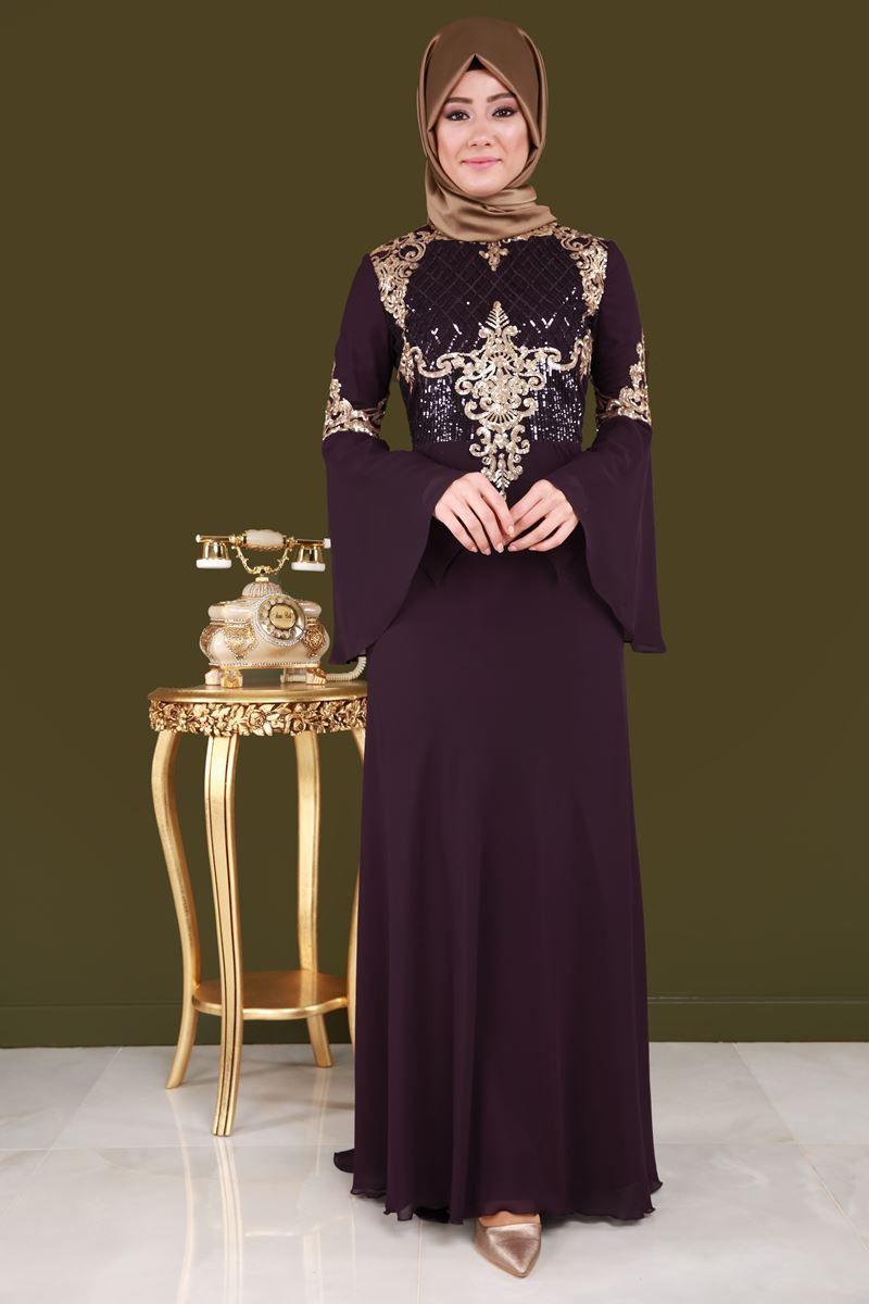 05e2e2459ae62 Tesettür abiye elbise modelleri ve abiye elbise fiyatlarında en uygun şık  tasarımlar Moda Selvim modanın yeni adresinde.