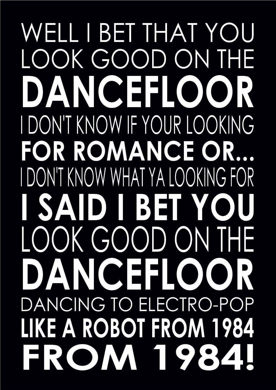 Arctic monkeys lyrics i bet that you look good on the dancefloor megagame betting line