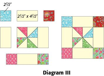 Image result for pinwheel quilt pattern template