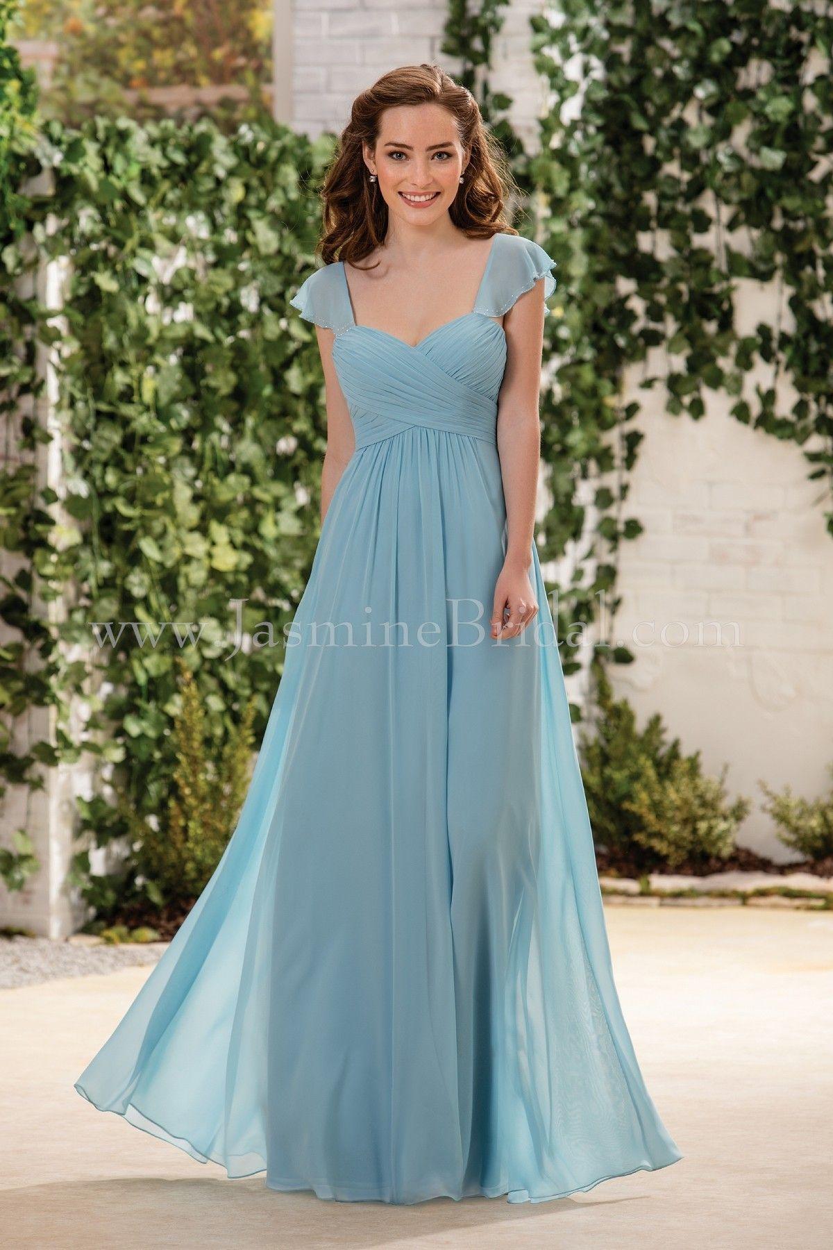 Jasmine Bridal Bridesmaid Dress B2 Style B183054 in Tahiti - Fall ...
