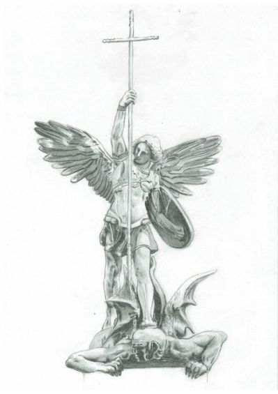 Tatuajes Angeles Llorando st. michael the archangel | artworks | pinterest | tatuaje angel