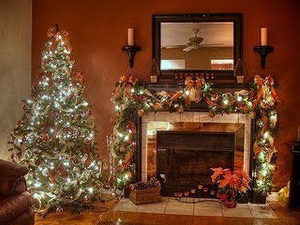 Chimeneas navideñas - Decoración de Interiores y Exteriores