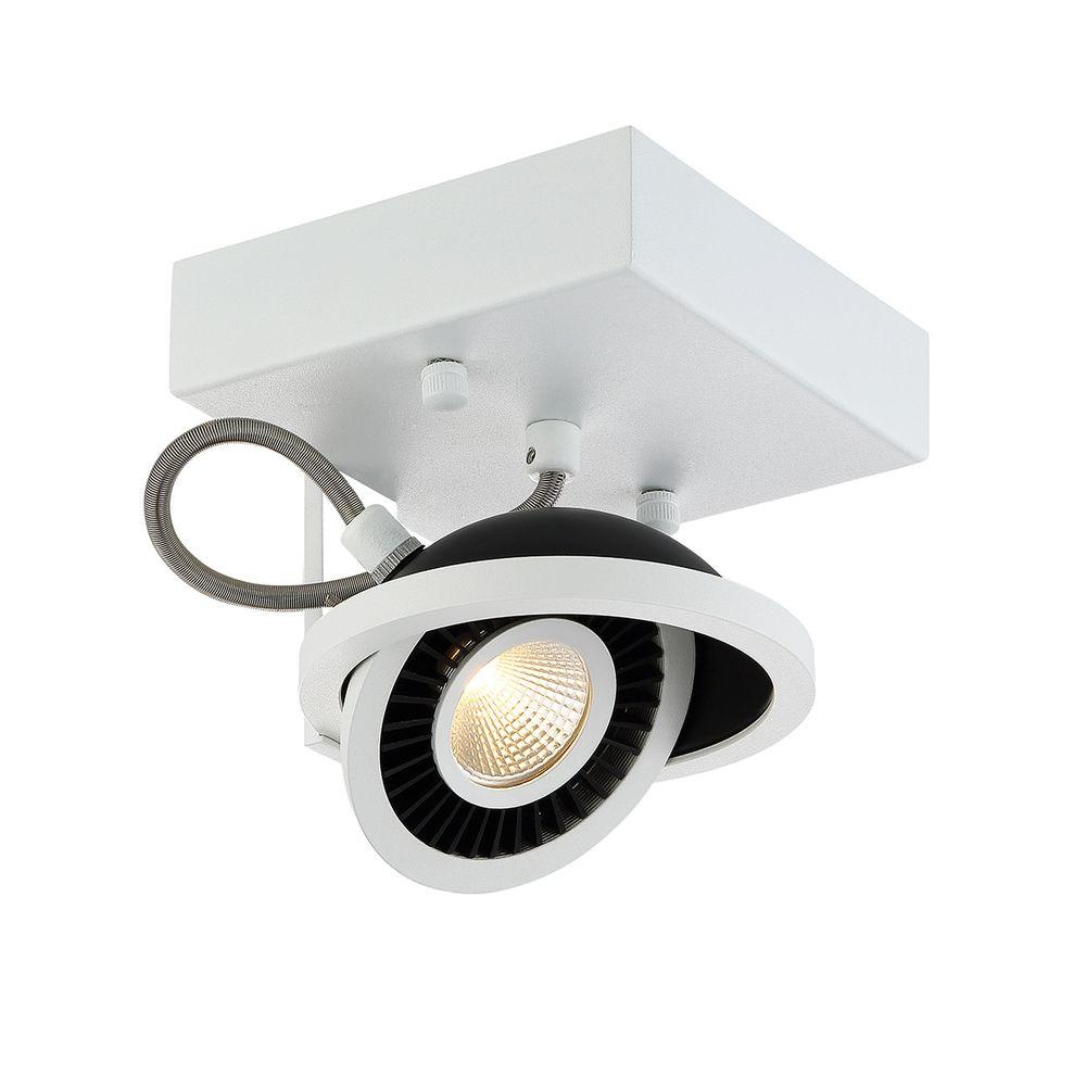 Eurofase Vision Collection 1-Light White LED Surface Mount