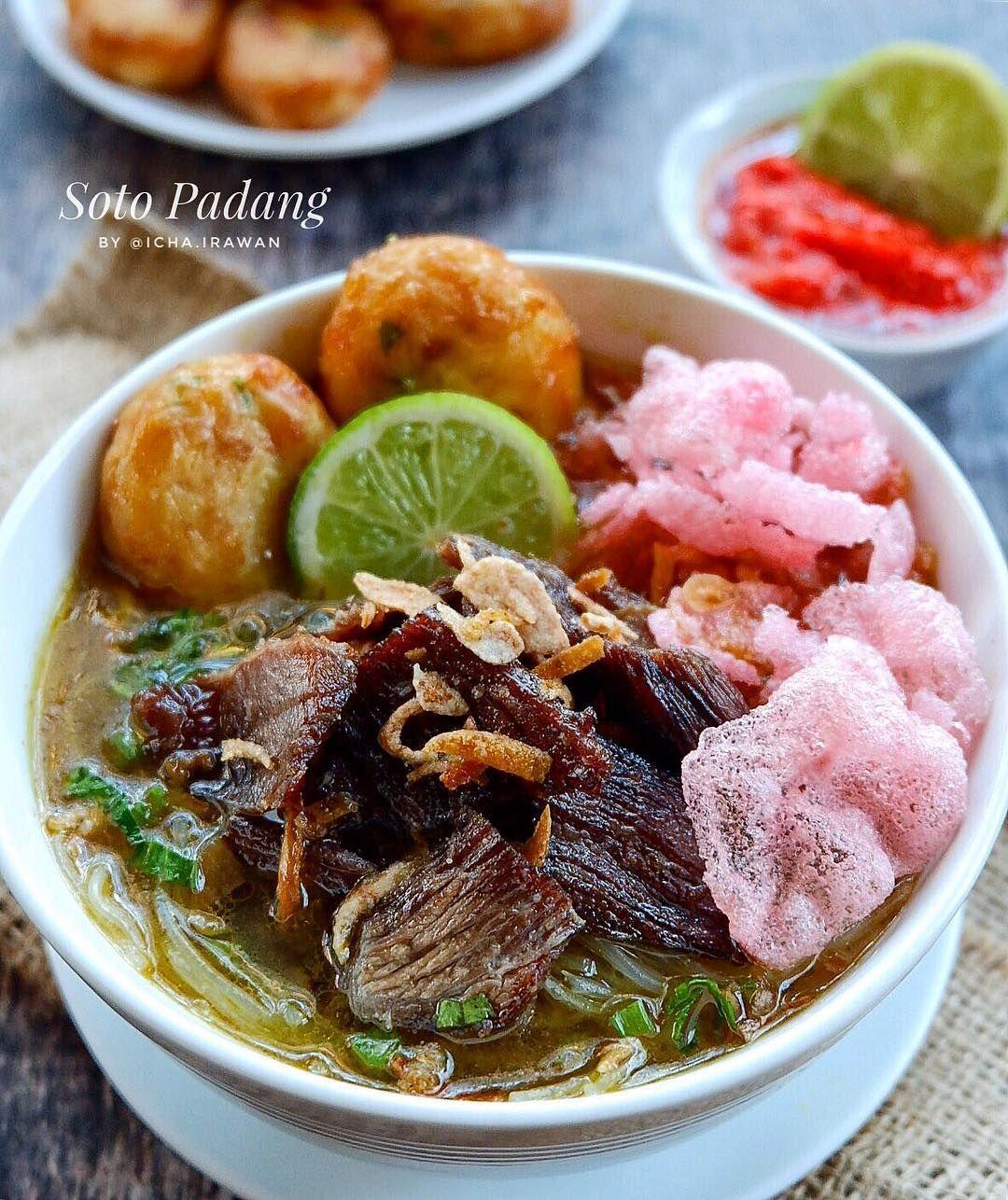 Soto Padang Resep Masakan Masakan Ide Makanan