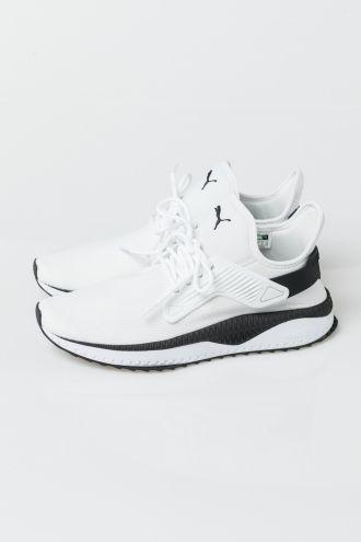 Puma TSUGI CAGE - Trainers - white/black VHjRYQH