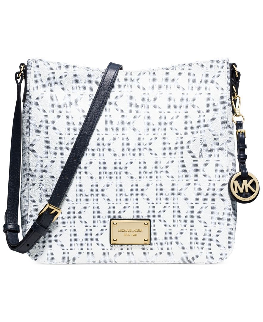 MICHAEL Michael Kors Handbag, Jet Set Travel Large Messenger Bag - All  Handbags - Handbags