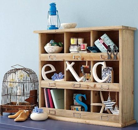 White Cube Shelf Rustic Bins | Lovely Rustic Fir Wood Shelving Unit With 9 Storage  Cubbies