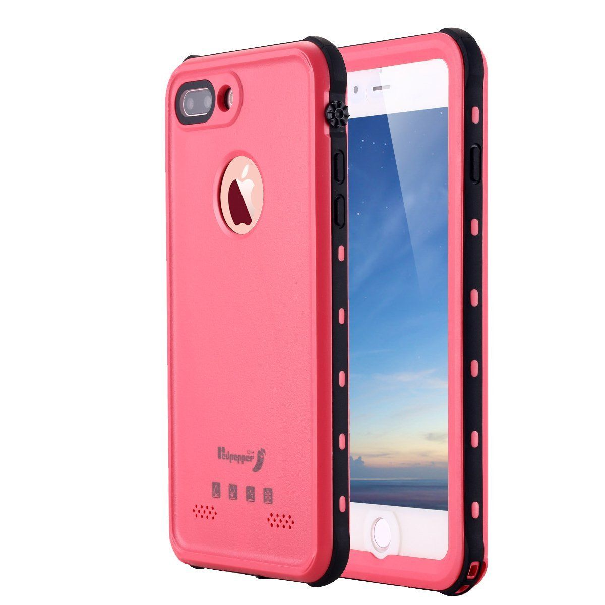outlet store 98f35 ce572 iPhone 8 Plus Waterproof Case,iPhone 7 Plus Waterproof Case, LONTECT ...