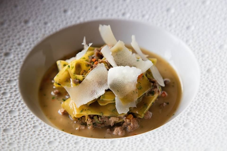 Papparedelle with Duck Ragu
