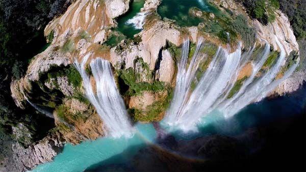 4.) Tamul waterfall (Mexico).