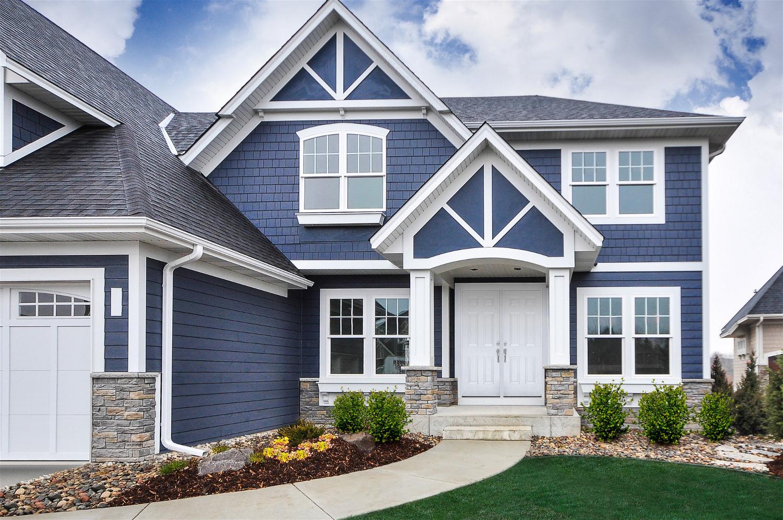 Design Ideas Photo Showcase House Exterior Blue House Siding Hardie Siding