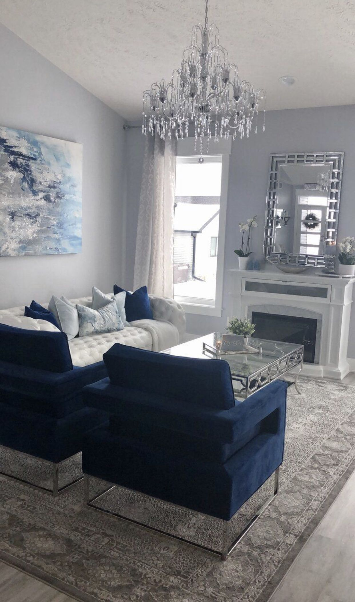 Pin by Athena Design Construction on Home / Decor in 15  Blue