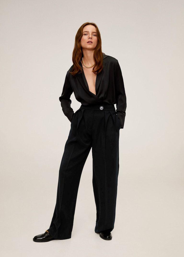 Photo of Palazzo pants –  Women | Mango USA