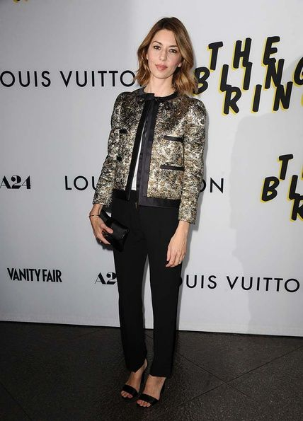Sophia Copolla The Bling Ring's presentation Los Angeles