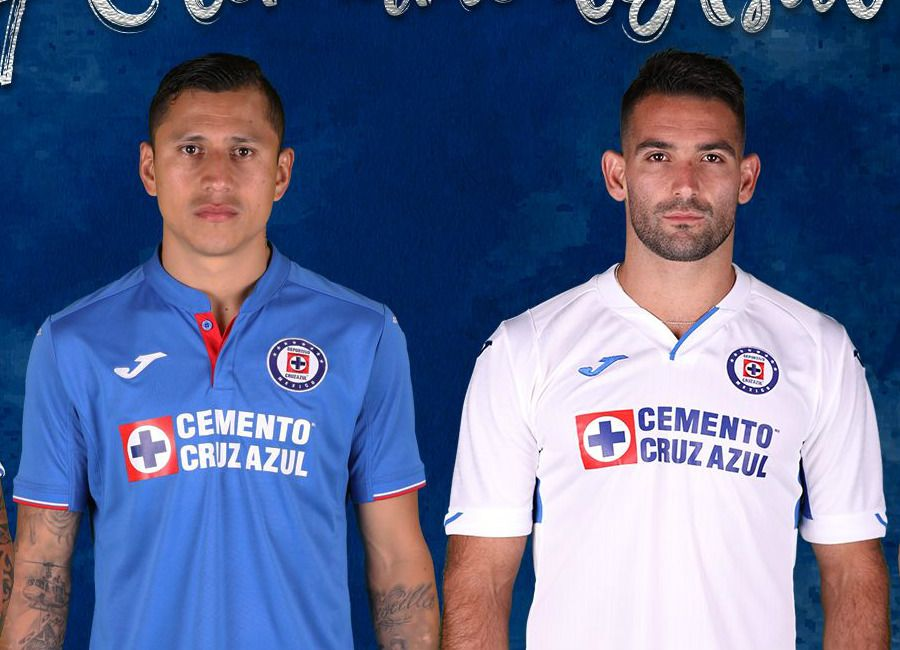 cruzazul  cruzazulfc Cruz Azul 2019 Joma Home   Away Kits ... 448fdf615