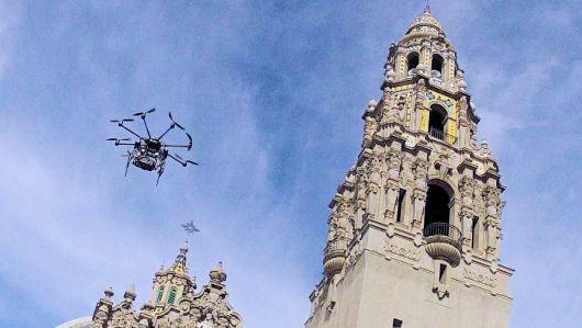 'Eye in the sky' drones flying in San Diego County