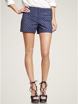 printed shorts #gap