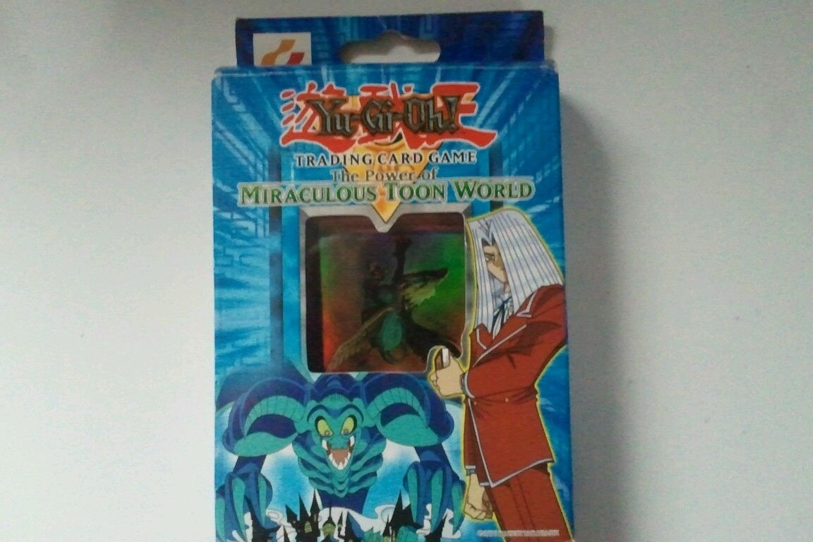 Yu Gi Oh The Power Of Miraculous Toon World Deck Yugioh