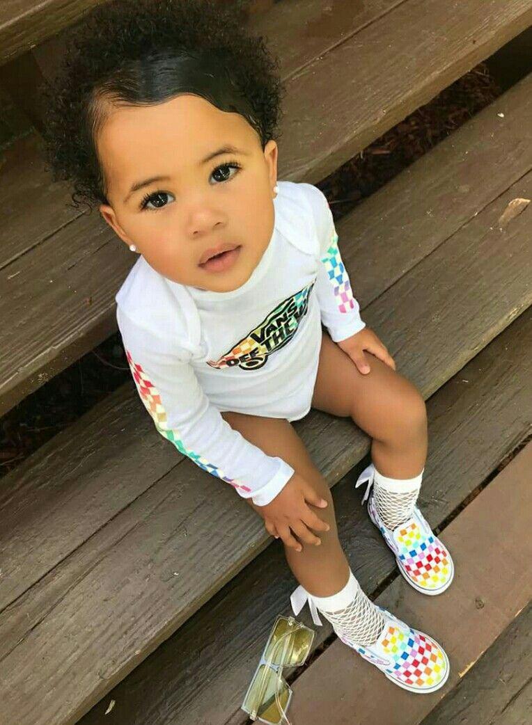 Pinterest: @NissaDaDon  Cute black babies, Cute baby girl, Cute