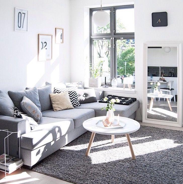 Inspirationen Wohnzimmer Skandinavischen Stil
