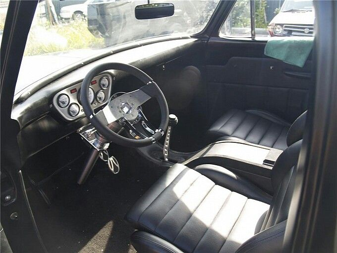 Expendables 55 Ford Interior Classic Truck F100 Truck Ford