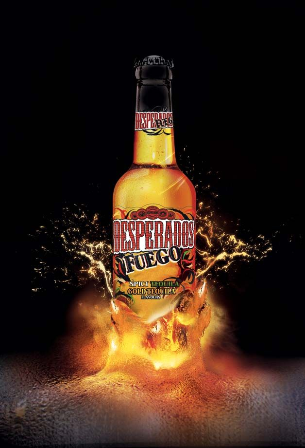 Desperados Fuego Tequila Pub