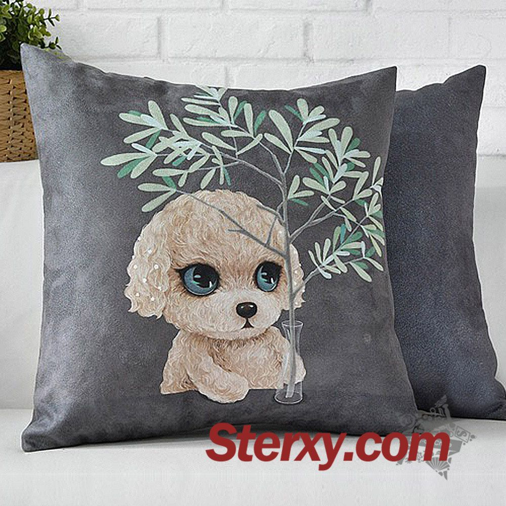 A 45cm teddy bear dog pillow case would