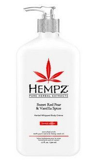 Hempz Triple Moisture Sweet Red Pear And Vanilla Spice Herbal