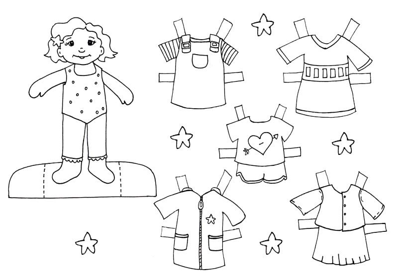 Dibujos Recortables Para Colorear E Imprimir: Muñecas De Papel Site:es - Google-søgning