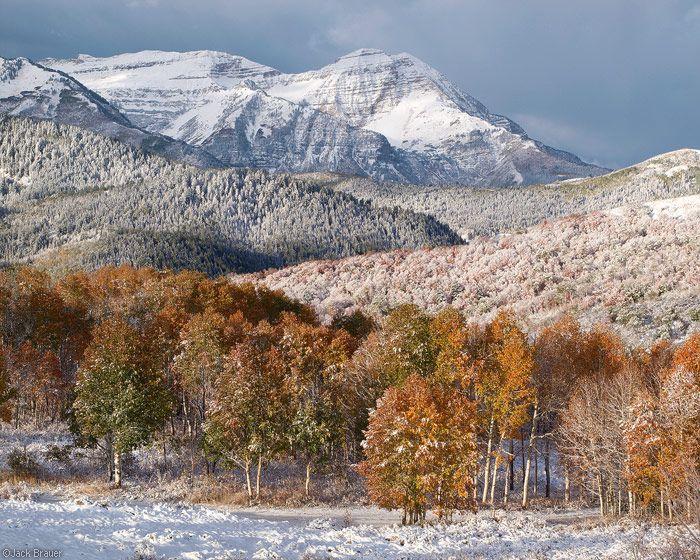 The North Peak Of Mount Timpanogos Smothered In Fresh October Snow Photo C Copyright By Jack Brauer Utah Travel Salt Lake City Utah Park City Utah