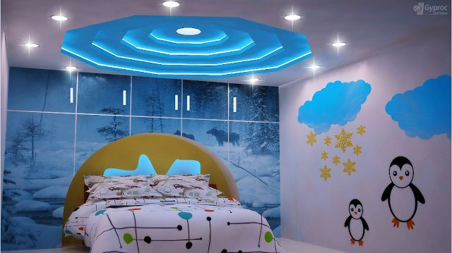kids room ceiling design ideas made of pop design | Pop ...