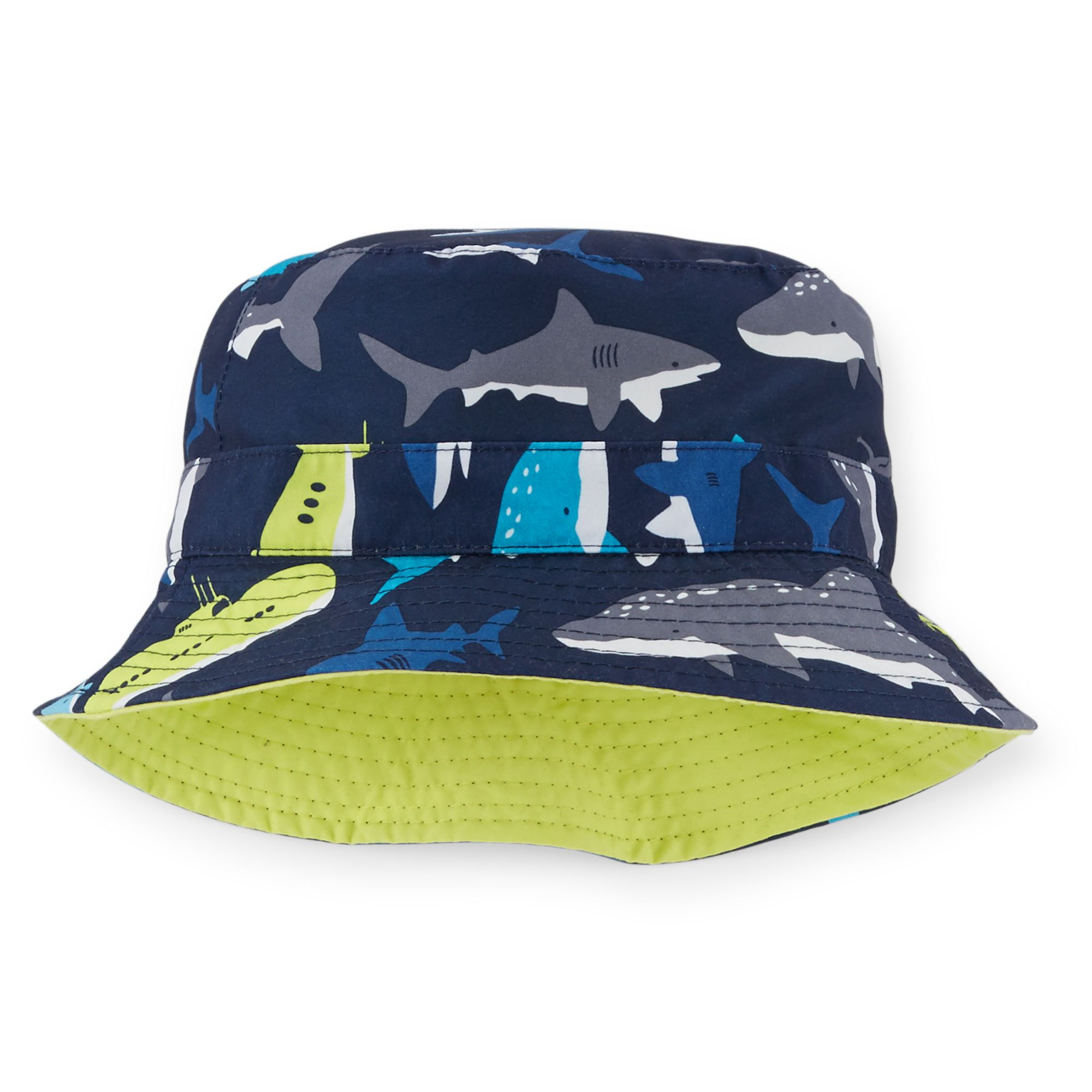 d0785992353 Toddler Boy Reversible Shark Print Bucket Hat