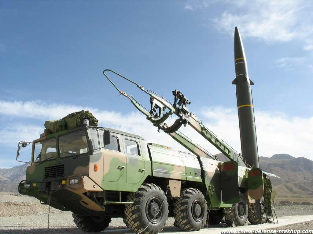Df11a dongfeng conventional ballistic missile tel