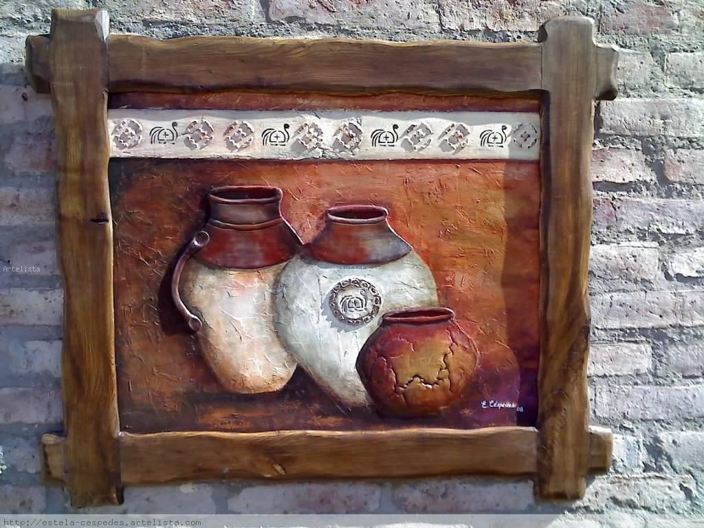 Cuadros mexicanos de tepuzuacan pinturas acuarela cuadros acr lico cuadros leo pinturas - Cuadros para dormitorios rusticos ...