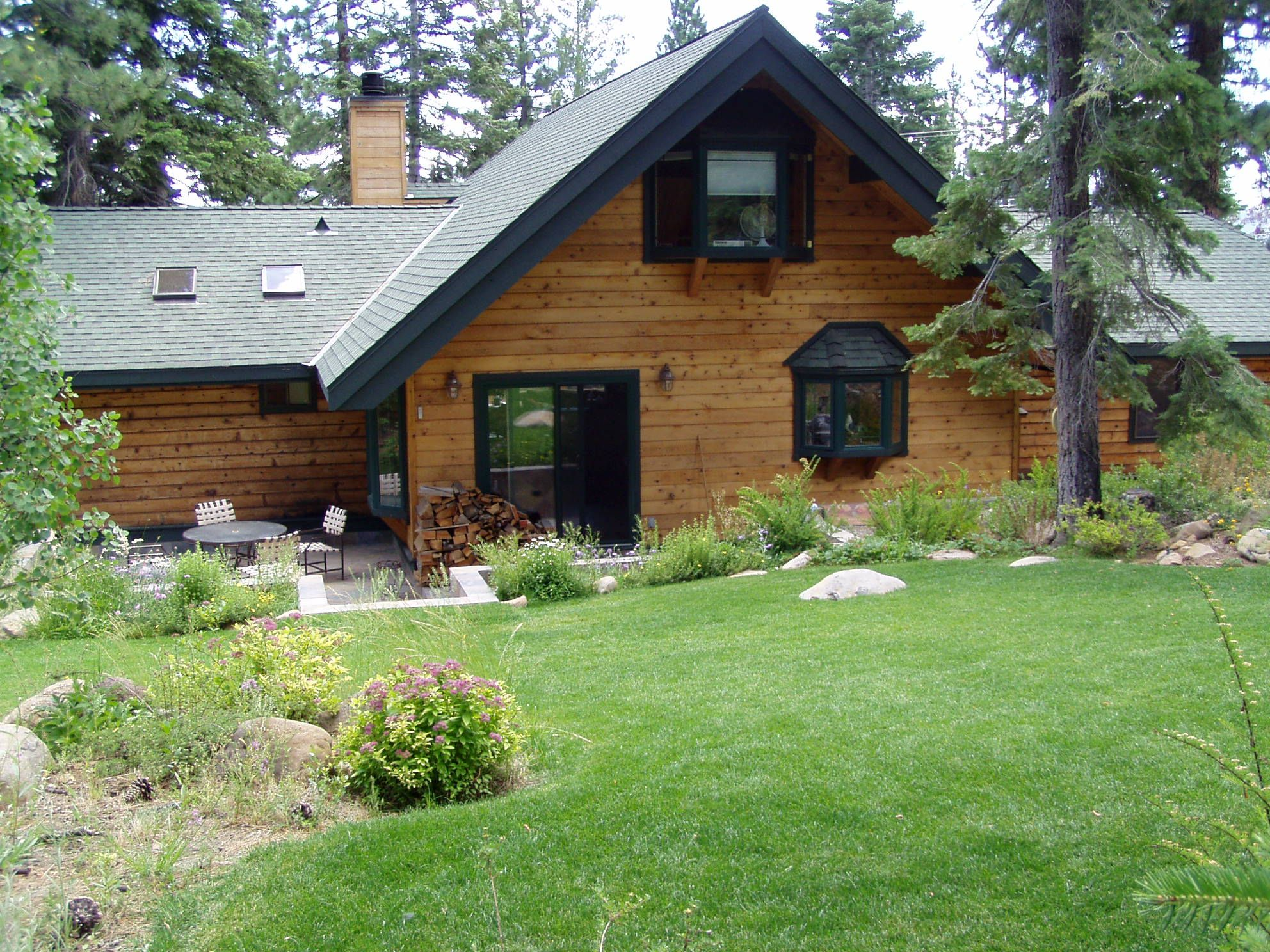 main cabin living cabins room view rent rentals vacation lake level for rubicon tahoe