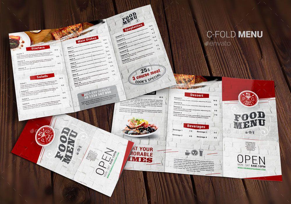 Food Menu 7 Bonuses Food Menu Bonuses Food Business Card Menu Design Template Business Card Template Design