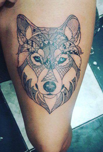 Los tatuajes de lobos su significado e interpretacin  Tatuajes