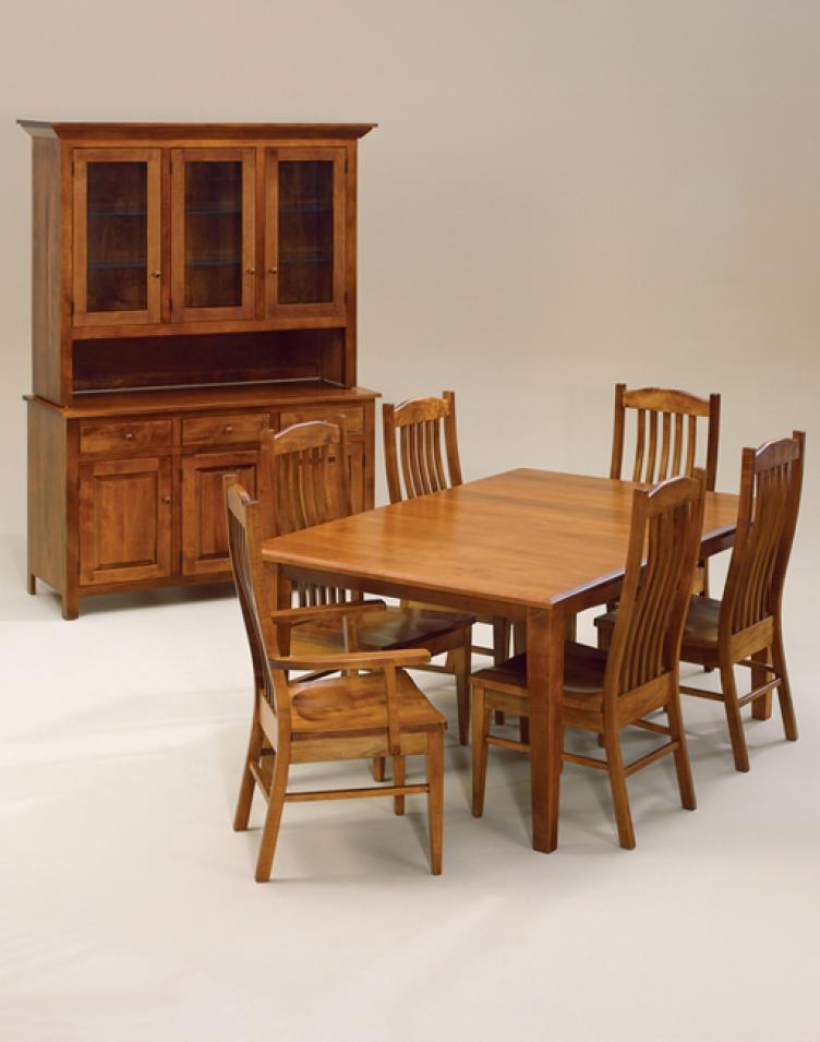 Room · Amish Shaker Undertaking Dining Room Set