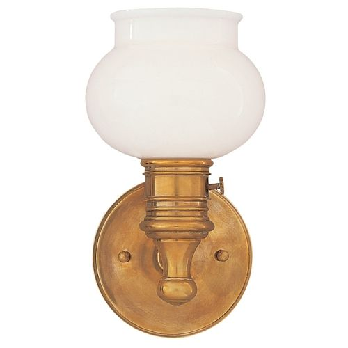 Nostalgic Sconce With On Off Switch At Destination Lighting Wall